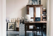 interiors / Scandinavian monocrome | vintage romance | faded pastels