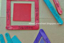 Crafts for geimetric shapes