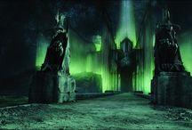 Mordor / Mordor, Minas Morgul, Cirith Ungol, Black gate,Barad-dur