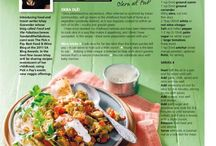 Food & Recipes - Vegetarian / We all like to boast about our 'Meatless Mondays' - Here are some wonderful idea from Food and The Fabulous Blog (http://www.foodandthefabulous.com/) and more...