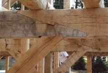 Timmerwork / Svarvning pelare i timmer