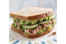 sandwich et tartine