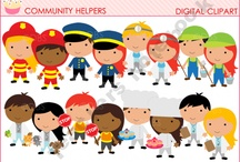 Community Helpers/Transportation/Fire Prevention / by Laura Justice