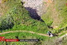 L'île d'Yeu en vidéo / Les paysages de l'île d'Yeu Vendée en vidéo #IledYeu #Vendée