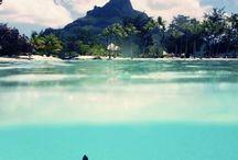 Voyager dans le pacifique / Vacance, libre, la joie de vivre, profiter