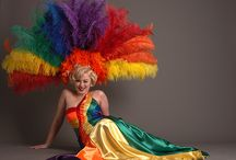 Feathers of Pride / Feathers expressing PRIDE | Gay Pride Parade costumes and more