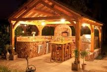 Outdoor Living Spaces / Taking the indoors outdoors! Entertaining spaces.