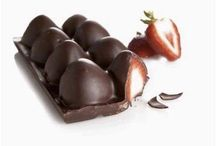 Strawberries dipped