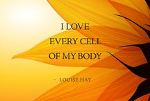 healthy body. affirmations.