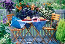 ideas balcon con flores