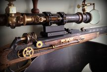 Steampunk Guns