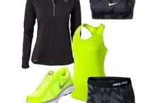 Fab Workout Clothes  / Looking good while workin out !