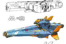 Spacecraft Soft Sci-Fi