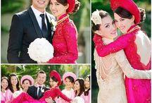 Wedding Ao dai