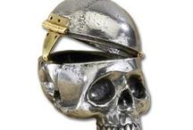 Skullduggery / The skullery, devoted to the artistry of bones