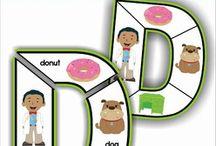 Alphabet ideas - ιδέες για την αλφαβήτα
