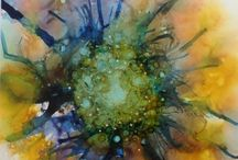gillys Alcohol ink Creations