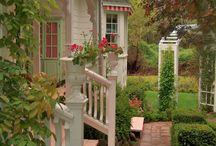Verande și grădini