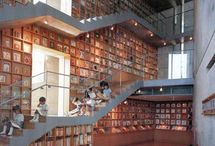 Library Architecture / Innovative Library Design / by Marin Library