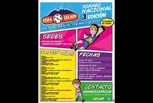 COPA CECAFF 2015 / La fiesta del fútbol infantil.