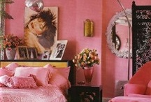 Pink bedroom / by Debbie Wallace