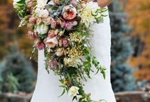 Bridal- Shower Bouquet / Bridal flowers inspiration in the style of a shower bouquet