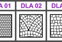 Laserové doplnky pre papierové modely / Doplnky pre papierových modelárov k modelom (dezény, rebrá, dlažby, plechy, mreže a podobne