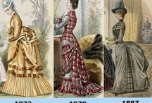 Bustle Time Period / Fashion during the Bustle Time Period