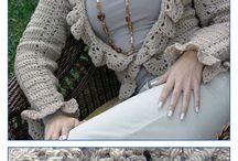 vestido de trico e croche inverno