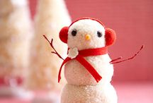 Christmas crafts for the girls / by Lauren Graham