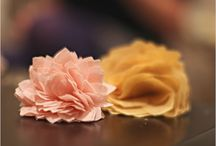 FAUX FLOWERS / by Camille Hatcher