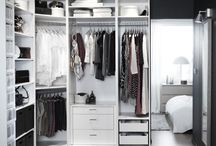 In the closet / Closet ideas and organisation
