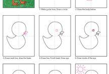 ako kresliť - how to draw