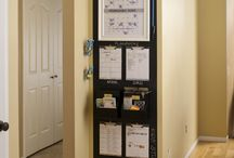 Command Centers / Having a centrally located area in your home for mail, keys, calendars, homework, and important papers can significantly help reduce your stress, help with time management, and keep things neat and organized. / by The Little Details