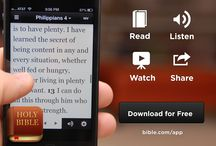 Digital Tools / Engage God's Word in digital formats.