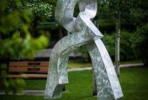 Castlegar Sculpturewalk 2016 / Check out the wonderful sculptures we have around this summer (2016)!