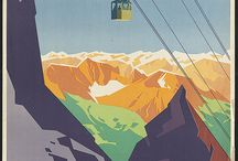 Vintage Travel Posters / Amazing vintage posters about Places around the world. Art.