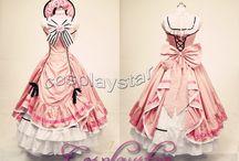 駒鳥ドレス