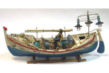 Decorative Wooden Boats