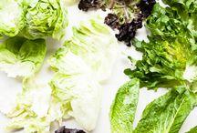Green lettuce weeds / Edible greens
