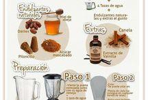 Las leches vegetales / Leches vegetales, propiedades, cómo prepararlas, recetas, etc.