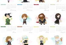 Calendario HP