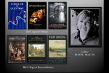 THE TWO TRILOGIES TOUR / Enter to win a $200.00 AMAZON GIFT CARD in the tour.  I am celebrating the completion of   The Osgoode Trilogy--about murder, fraud, love and forgiveness in the world of law and The Trilogy of Remembrance about--revelations in the glamour and shadows of the art world. http://maryemartintrilogies.com/virtual-tour/