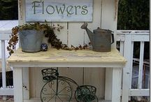 Tavoli da lavoro per giardinaggio