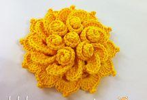 Flor de Maio - crochet