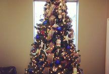 Bay Custom Automotive Christmas / Vintage Fisherman Christmas Tree