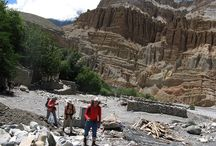 Upper Mustang Trekking / Mustang (Last Forbidden Kingdom in the Himalayas) is one of must famous travel destination in the world. It has very unique culture and tradition, century's old monasteries and Kali Gandaki River valley to Lo-Manthang landscape are similar to Tibet. It is also said, Mustang is alternative way to explore Tibet. http://www.nepalgatewaytrekking.com/nepal/trekking/upper-mustang.html