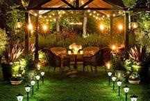 Outdoor Lighting Event Designs