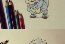 Pokemons drawing