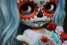 Stuff to Buy / blythe day of the dead dolls